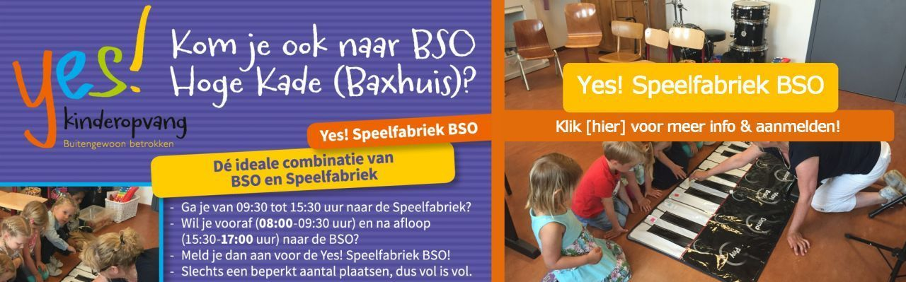 Yes! Speelfabriek BSO